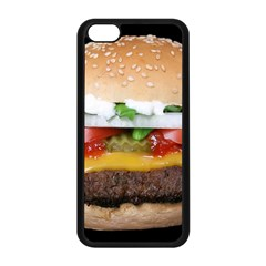 Abstract Barbeque Bbq Beauty Beef Apple Iphone 5c Seamless Case (black)
