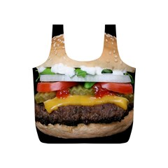 Abstract Barbeque Bbq Beauty Beef Full Print Recycle Bags (S)