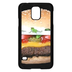 Abstract Barbeque Bbq Beauty Beef Samsung Galaxy S5 Case (Black)