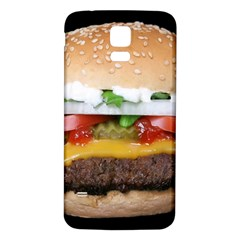 Abstract Barbeque Bbq Beauty Beef Samsung Galaxy S5 Back Case (white)