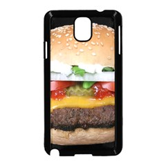 Abstract Barbeque Bbq Beauty Beef Samsung Galaxy Note 3 Neo Hardshell Case (Black)
