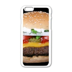 Abstract Barbeque Bbq Beauty Beef Apple iPhone 6/6S White Enamel Case