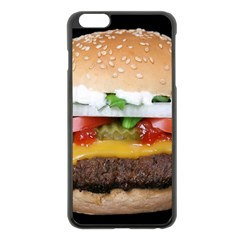 Abstract Barbeque Bbq Beauty Beef Apple iPhone 6 Plus/6S Plus Black Enamel Case