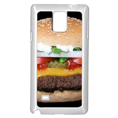 Abstract Barbeque Bbq Beauty Beef Samsung Galaxy Note 4 Case (white)