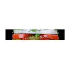 Abstract Barbeque Bbq Beauty Beef Flano Scarf (Mini)