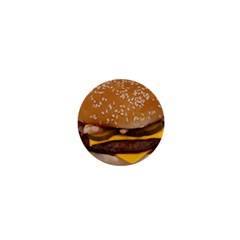Cheeseburger On Sesame Seed Bun 1  Mini Magnets