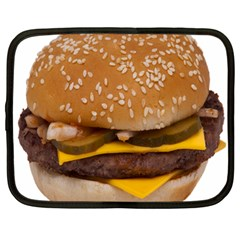Cheeseburger On Sesame Seed Bun Netbook Case (large)