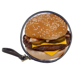 Cheeseburger On Sesame Seed Bun Classic 20-CD Wallets