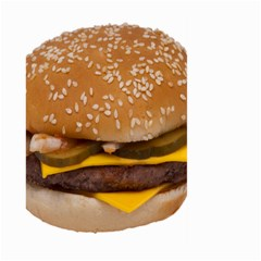 Cheeseburger On Sesame Seed Bun Large Garden Flag (Two Sides)