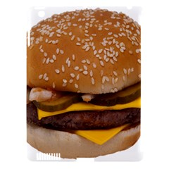 Cheeseburger On Sesame Seed Bun Apple iPad 3/4 Hardshell Case (Compatible with Smart Cover)