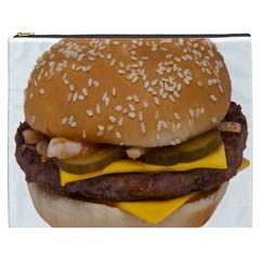 Cheeseburger On Sesame Seed Bun Cosmetic Bag (xxxl)