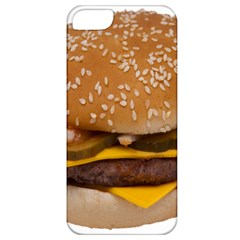 Cheeseburger On Sesame Seed Bun Apple iPhone 5 Classic Hardshell Case