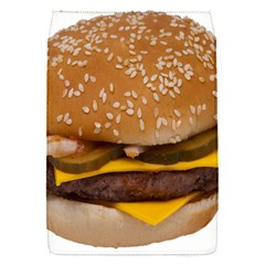 Cheeseburger On Sesame Seed Bun Flap Covers (S)
