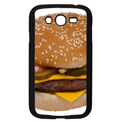 Cheeseburger On Sesame Seed Bun Samsung Galaxy Grand DUOS I9082 Case (Black)