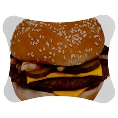 Cheeseburger On Sesame Seed Bun Jigsaw Puzzle Photo Stand (bow)