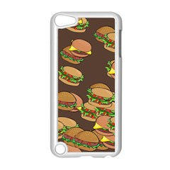 A Fun Cartoon Cheese Burger Tiling Pattern Apple Ipod Touch 5 Case (white)