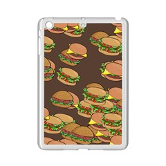 A Fun Cartoon Cheese Burger Tiling Pattern iPad Mini 2 Enamel Coated Cases
