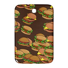 A Fun Cartoon Cheese Burger Tiling Pattern Samsung Galaxy Note 8.0 N5100 Hardshell Case