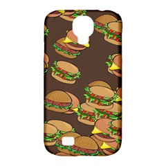 A Fun Cartoon Cheese Burger Tiling Pattern Samsung Galaxy S4 Classic Hardshell Case (PC+Silicone)