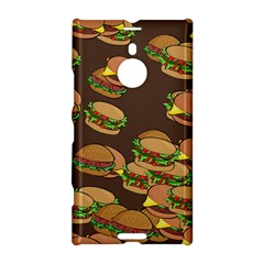 A Fun Cartoon Cheese Burger Tiling Pattern Nokia Lumia 1520