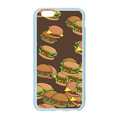 A Fun Cartoon Cheese Burger Tiling Pattern Apple Seamless iPhone 6/6S Case (Color)