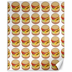 Hamburger Pattern Canvas 16  X 20