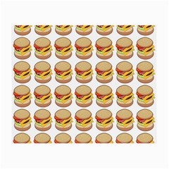 Hamburger Pattern Small Glasses Cloth (2 Side)