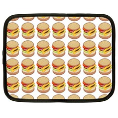 Hamburger Pattern Netbook Case (xl)