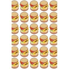 Hamburger Pattern 5 5  X 8 5  Notebooks