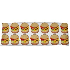 Hamburger Pattern Body Pillow Case (Dakimakura)