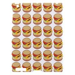 Hamburger Pattern Apple iPad 3/4 Hardshell Case