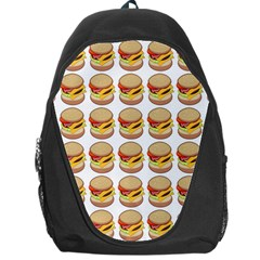 Hamburger Pattern Backpack Bag