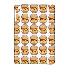 Hamburger Pattern Apple iPad Mini Hardshell Case (Compatible with Smart Cover)
