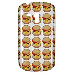 Hamburger Pattern Galaxy S3 Mini