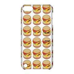 Hamburger Pattern Apple iPod Touch 5 Hardshell Case with Stand