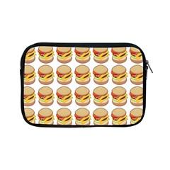 Hamburger Pattern Apple iPad Mini Zipper Cases