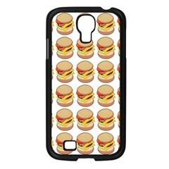 Hamburger Pattern Samsung Galaxy S4 I9500/ I9505 Case (Black)