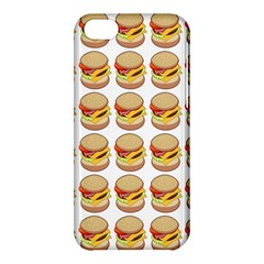 Hamburger Pattern Apple iPhone 5C Hardshell Case
