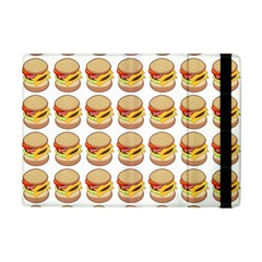 Hamburger Pattern iPad Mini 2 Flip Cases