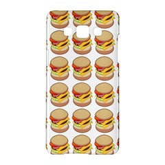 Hamburger Pattern Samsung Galaxy A5 Hardshell Case
