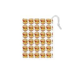 Hamburger Pattern Drawstring Pouches (XS)