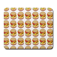 Hamburger Pattern Large Mousepads