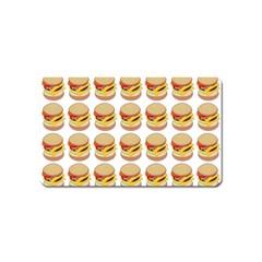 Hamburger Pattern Magnet (name Card)