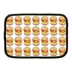 Hamburger Pattern Netbook Case (medium)