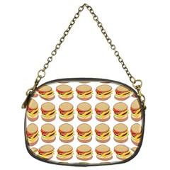 Hamburger Pattern Chain Purses (one Side)