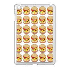 Hamburger Pattern Apple Ipad Mini Case (white)