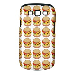 Hamburger Pattern Samsung Galaxy S III Classic Hardshell Case (PC+Silicone)