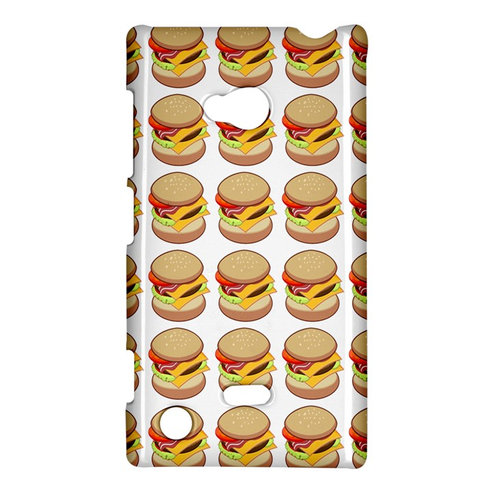 Hamburger Pattern Nokia Lumia 720