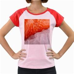 Abstract Angel Bass Beach Chef Women s Cap Sleeve T Shirt