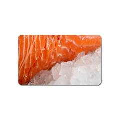 Abstract Angel Bass Beach Chef Magnet (Name Card)